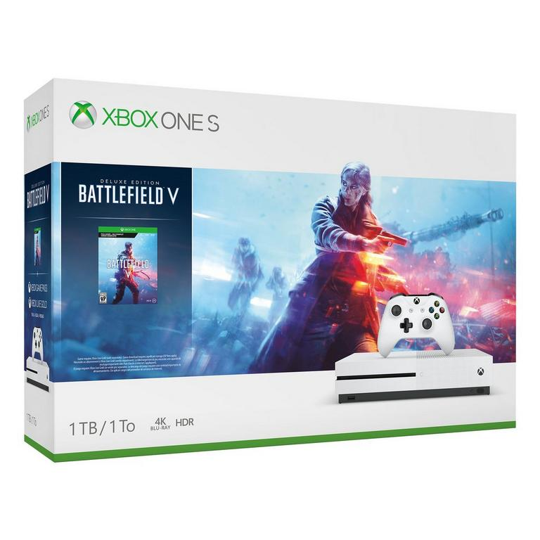 Xbox One S 1TB Battlefield V Deluxe Edition Bundle