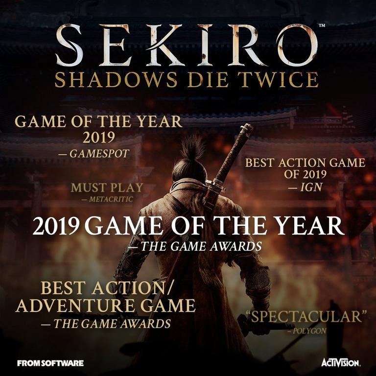 Sekiro: Shadows Die Twice Collector's Edition Only at GameStop