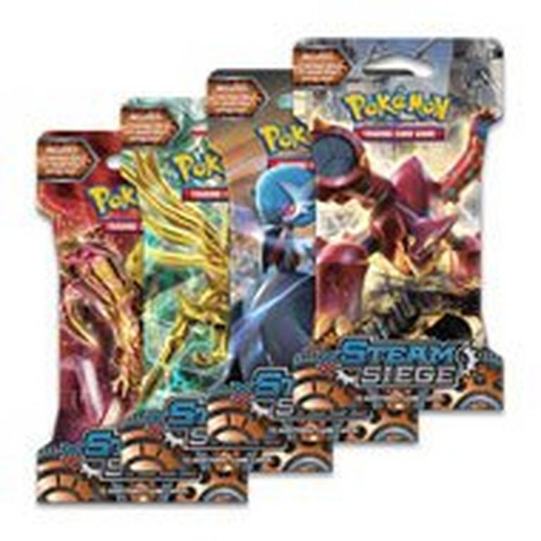 Pokemon Trading Card Game: XY Steam Siege Booster