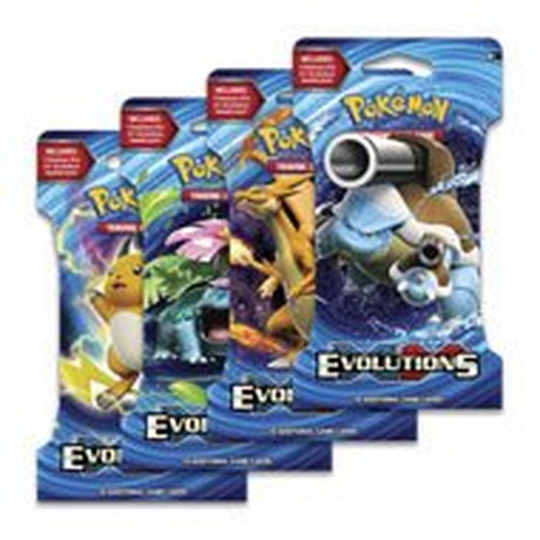 Pokemon Trading Card Game: XY Evolutions Booster