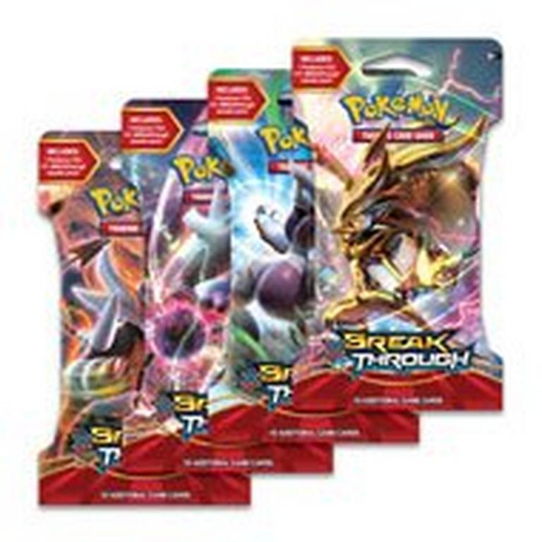 Pokemon Trading Card Game: X and Y BREAKThrough Booster Pack