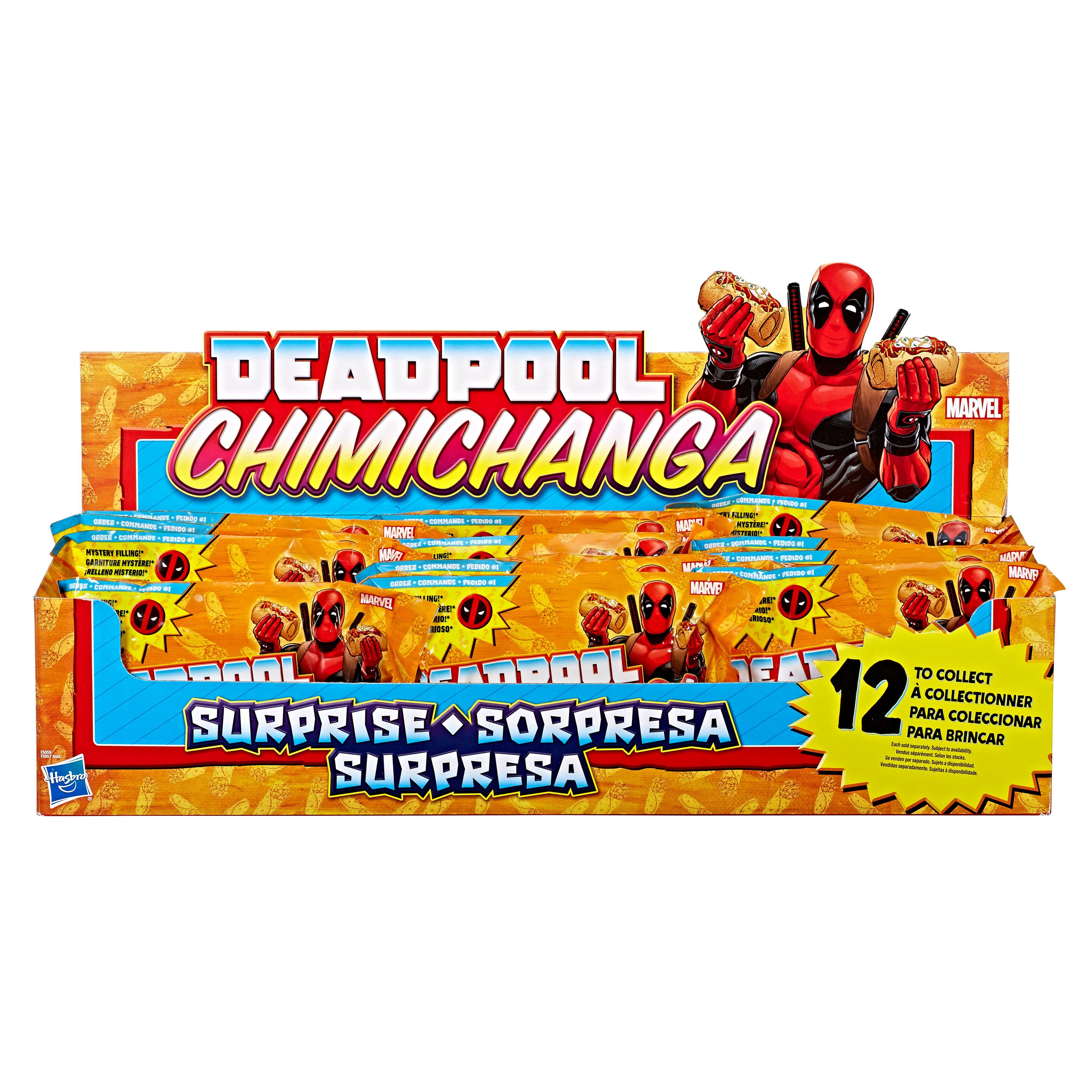 Deadpool Chimichanga Surprise Mystery Pack Marvel Mini Figures 12 Pack