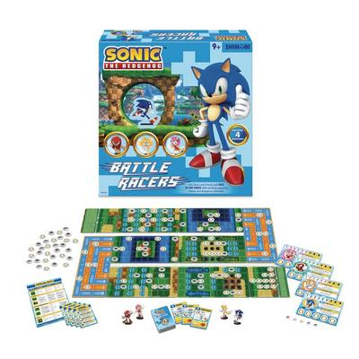 Sonic the Hedgehog Battle Racers Board Game
