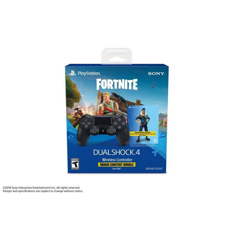 Sony DUALSHOCK 4 Wireless Controller - Fortnite Bonus Content Bundle |  PlayStation 4 | GameStop