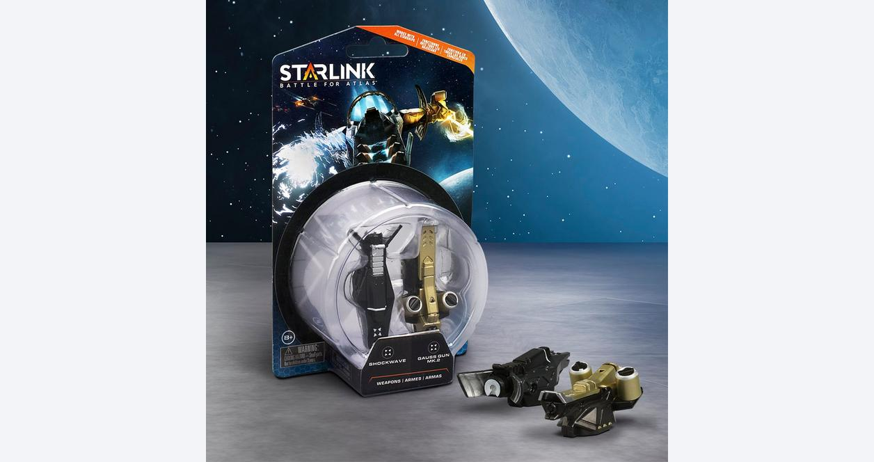 Starlink: Battle for Atlas Shockwave Weapon Pack