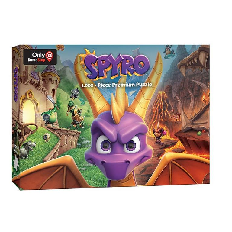 Spyro Reignited Trilogy 1000 Piece Puzzle - Only at GameStop