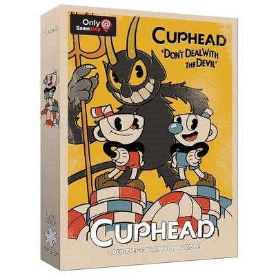 Cuphead Don't Deal with the Devil Puzzle Only at GameStop