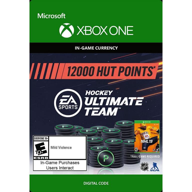 NHL 19 12,000 HUT Points
