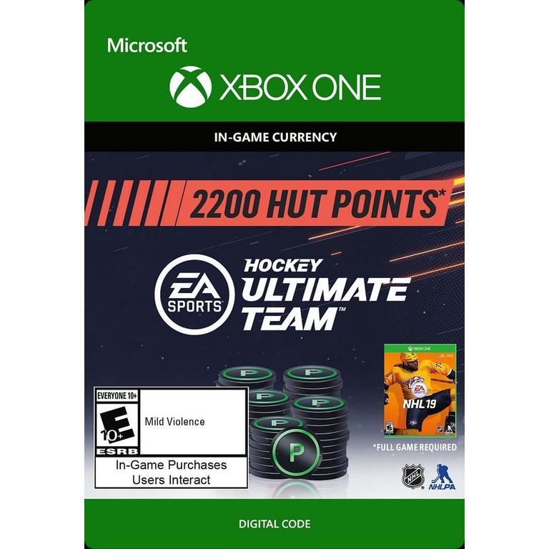 NHL 19 2200 Ultimate Team Points Digital Card