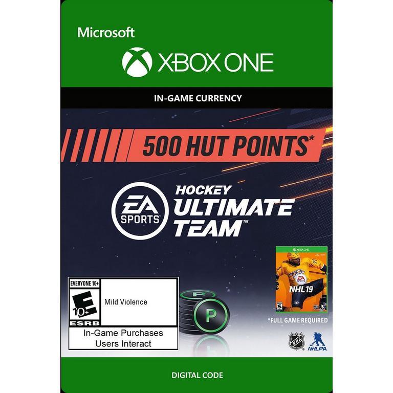 NHL 19 500 Ultimate Team Points Digital Card