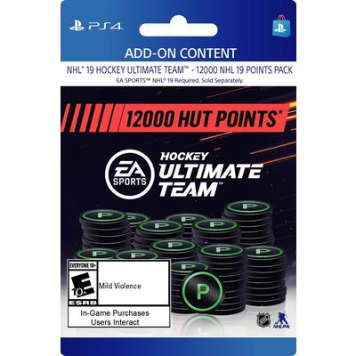 NHL 19 12000 Ultimate Team Points Digital Card