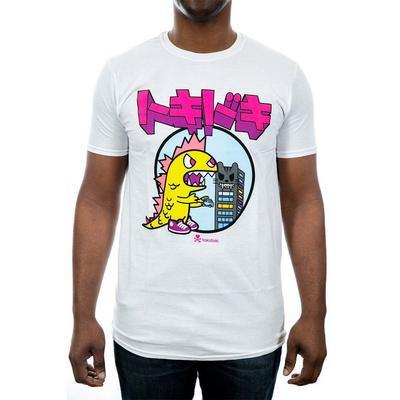 Tokidoki Kaiju Kanji White Men T-Shirt