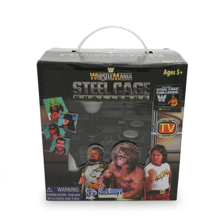 Wrestlemania Steel Cage Challenge Retro Plug and Play TV Arcade