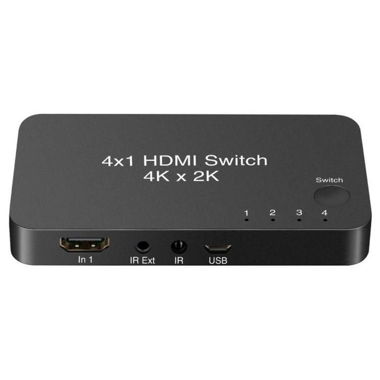 YoK Universal 4-Port HDMI 4K Switch