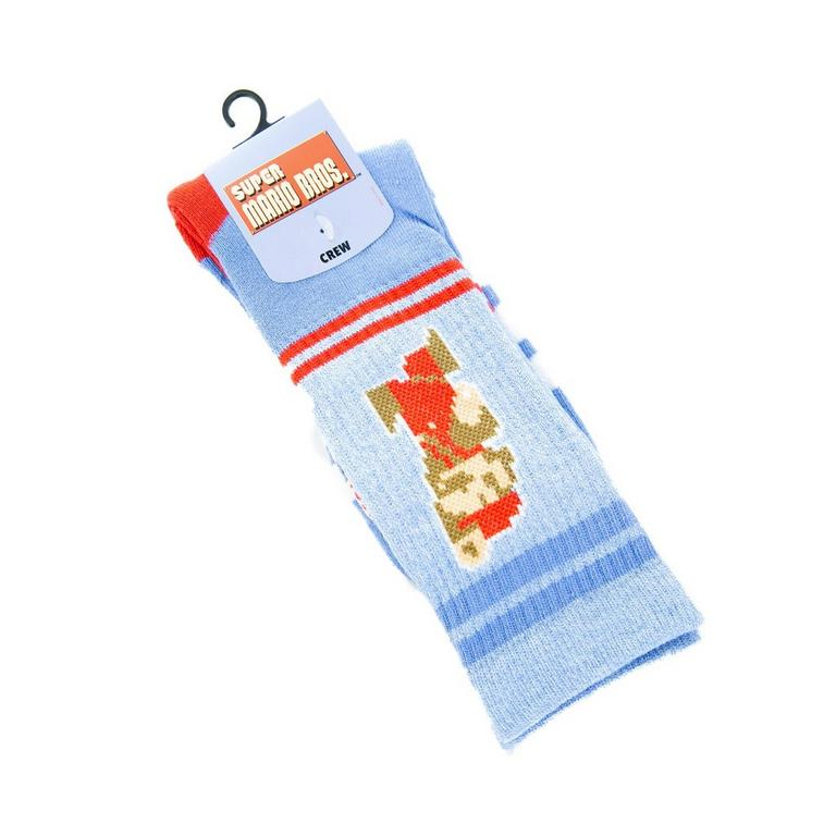 Super Mario Bros. Jumping Mario Socks