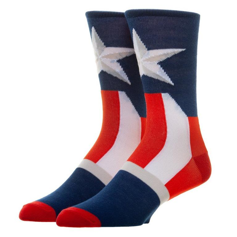 Captain America Suit Crew Socks