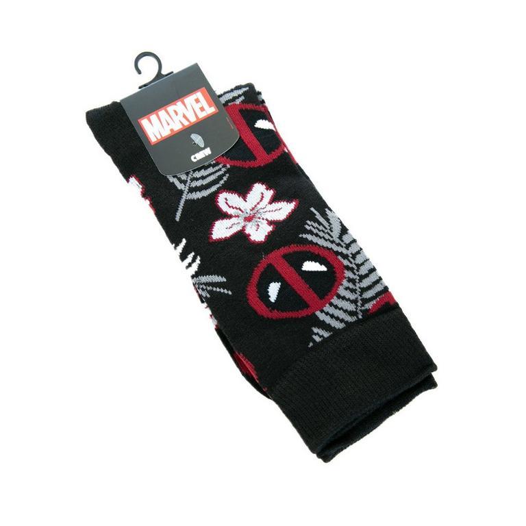 Deadpool Floral Socks