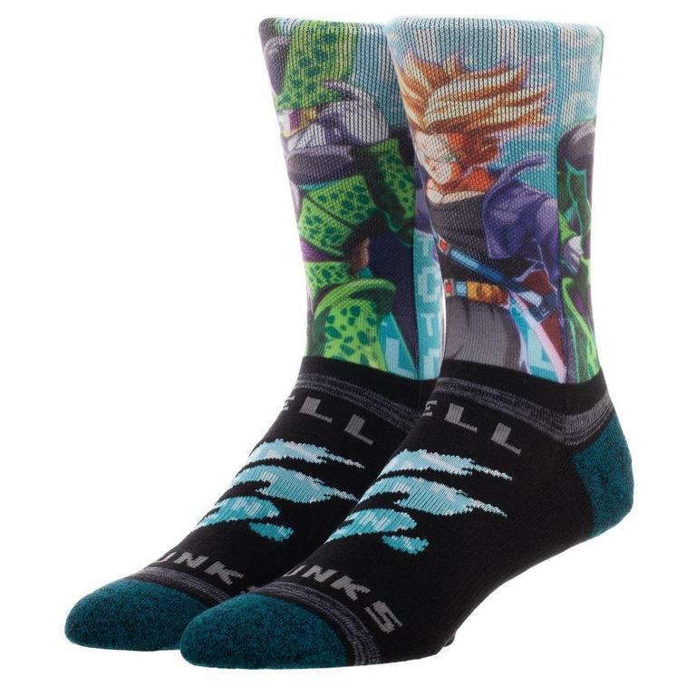 Dragon Ball Z Trunks VS Cell Socks
