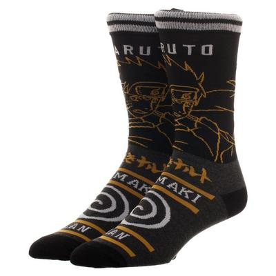 Naruto Shippuden Uzumaki Clan Socks