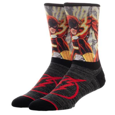 DC The Flash Character Socks