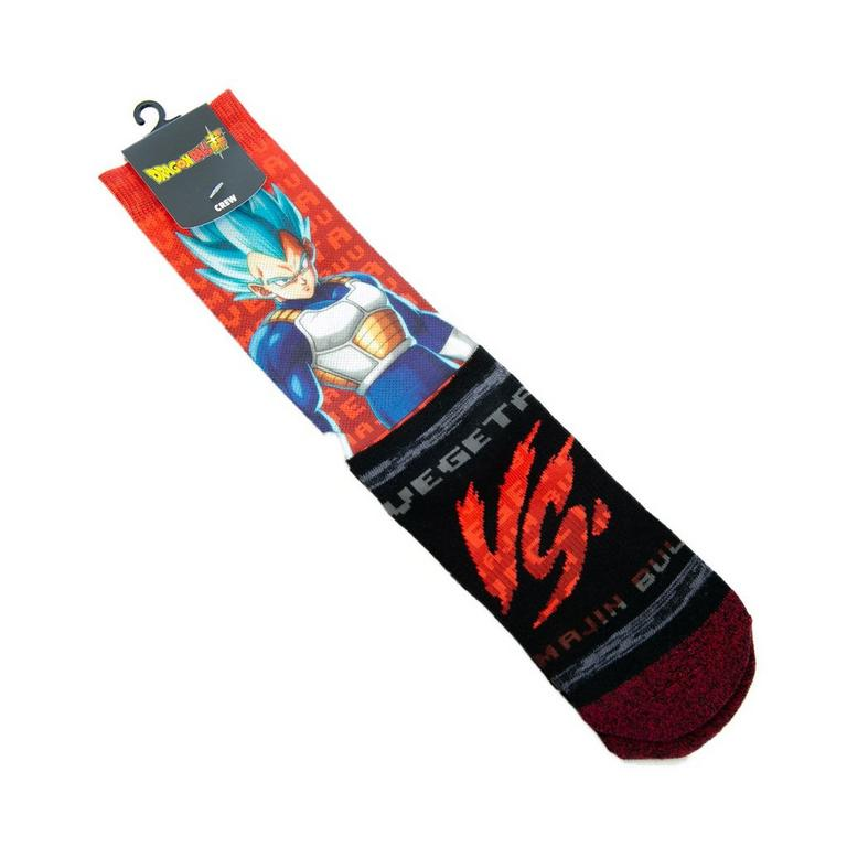 Dragon Ball Z Vegeta and Buu Socks