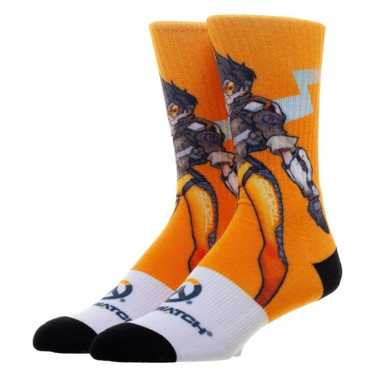 Overwatch Tracer Pose Socks