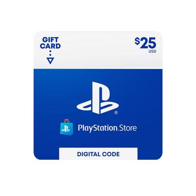 PlayStation Network $25 Digital Card