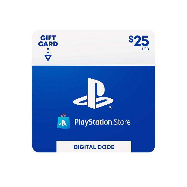 Sony Computer Entertainment America Digital PlayStation Store Gift Card $25 PS4 Download Now At GameStop.com!