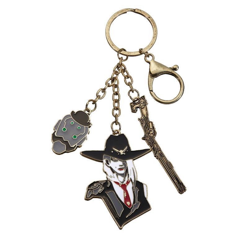 Overwatch Ashe Charm Keychain