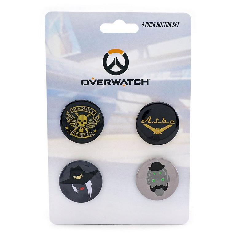 Overwatch Ashe Buttons