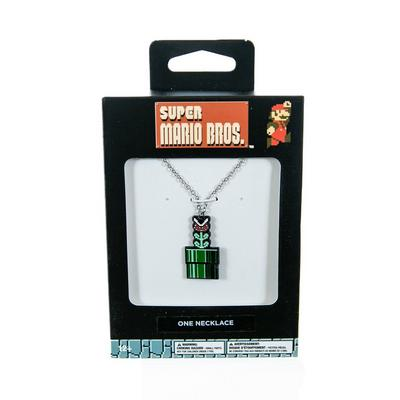 Super Mario Bros. Piranha Plant Necklace