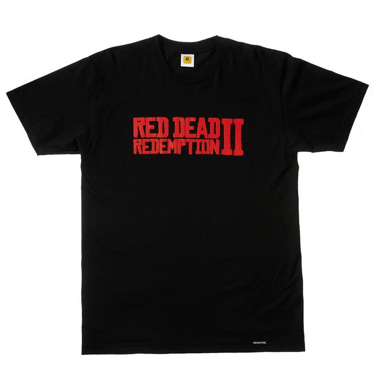 Red Dead Redemption 2 Logo T-Shirt Only at GameStop
