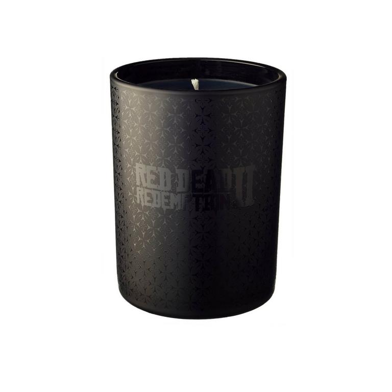 Red Dead Redemption 2 Black Glass Candle by Joya Only at GameStop