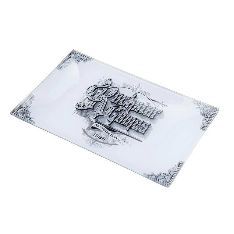 Red Dead Redemption 2 6X9 Glass Decoupage Vintage Rockstar Tray - Only at GameStop