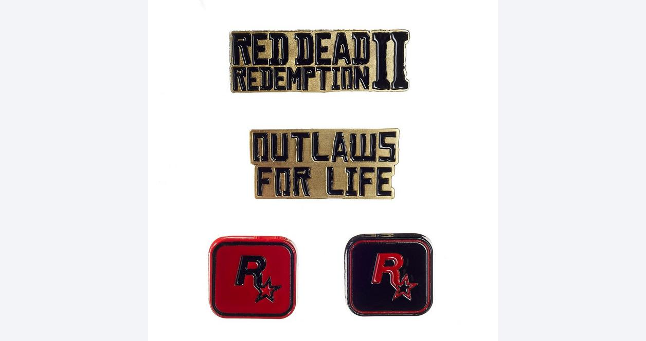 Red Dead Redemption 2 Pin Set