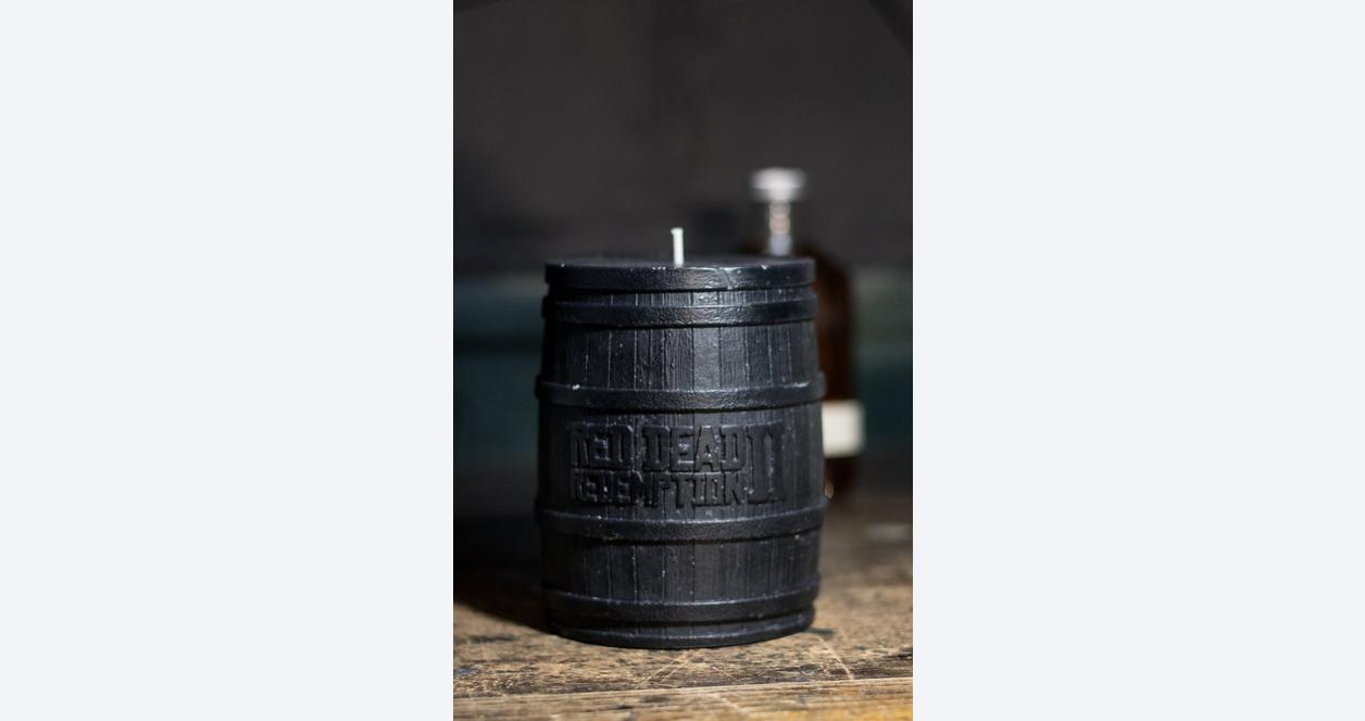 Red Dead Redemption 2 Barrel Candle by Joya Only at GameStop