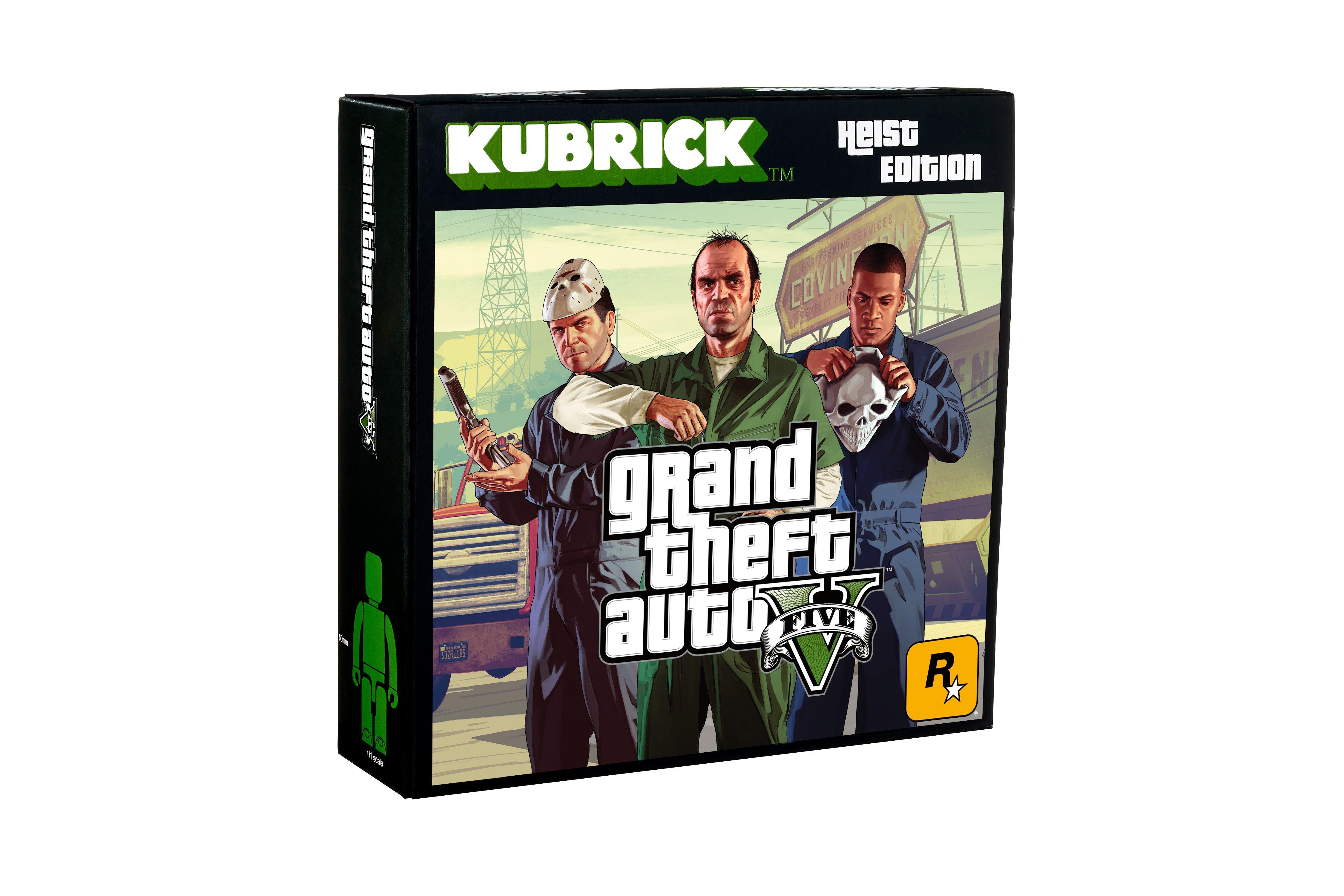 Grand Theft Auto V Heist Kubrick Action Figure Set Gamestop