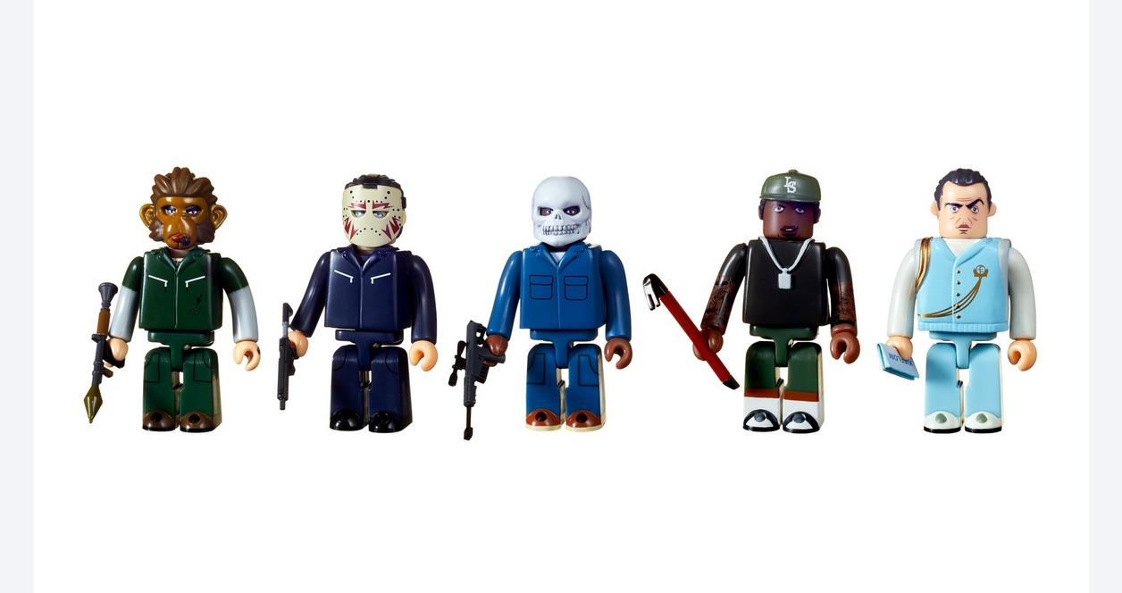 Grand Theft Auto V Heist Kubrick Action Figure Set