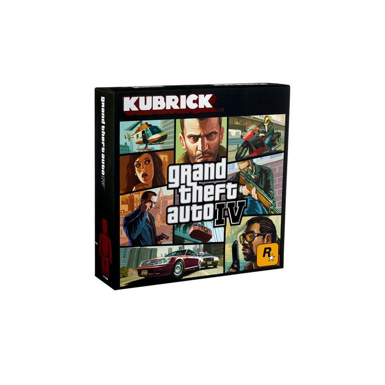 Grand Theft Auto IV Kubrick Action Figure Set | GameStop