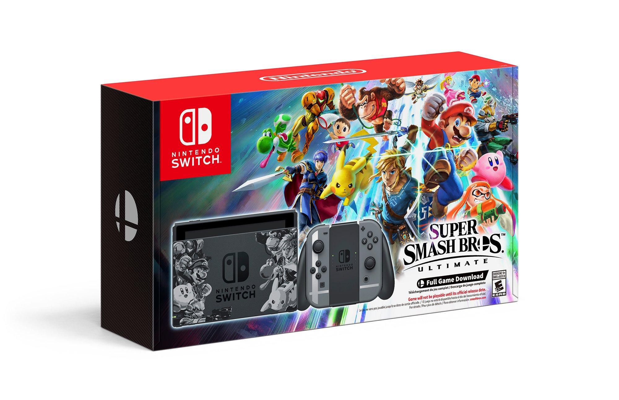 Nintendo Switch Super Smash Bros  Ultimate Edition Console   Nintendo  Switch   GameStop