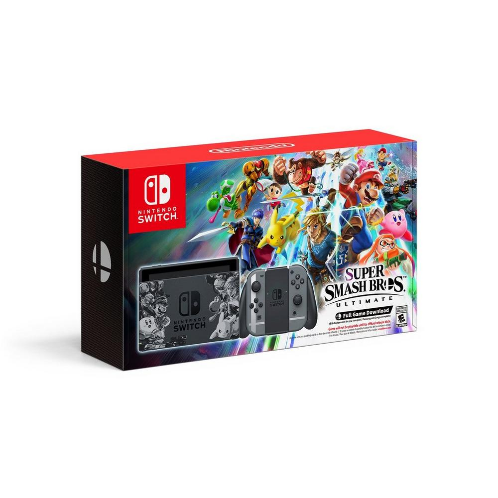 Nintendo Switch Super Smash Bros  Ultimate Edition Console | Nintendo  Switch | GameStop