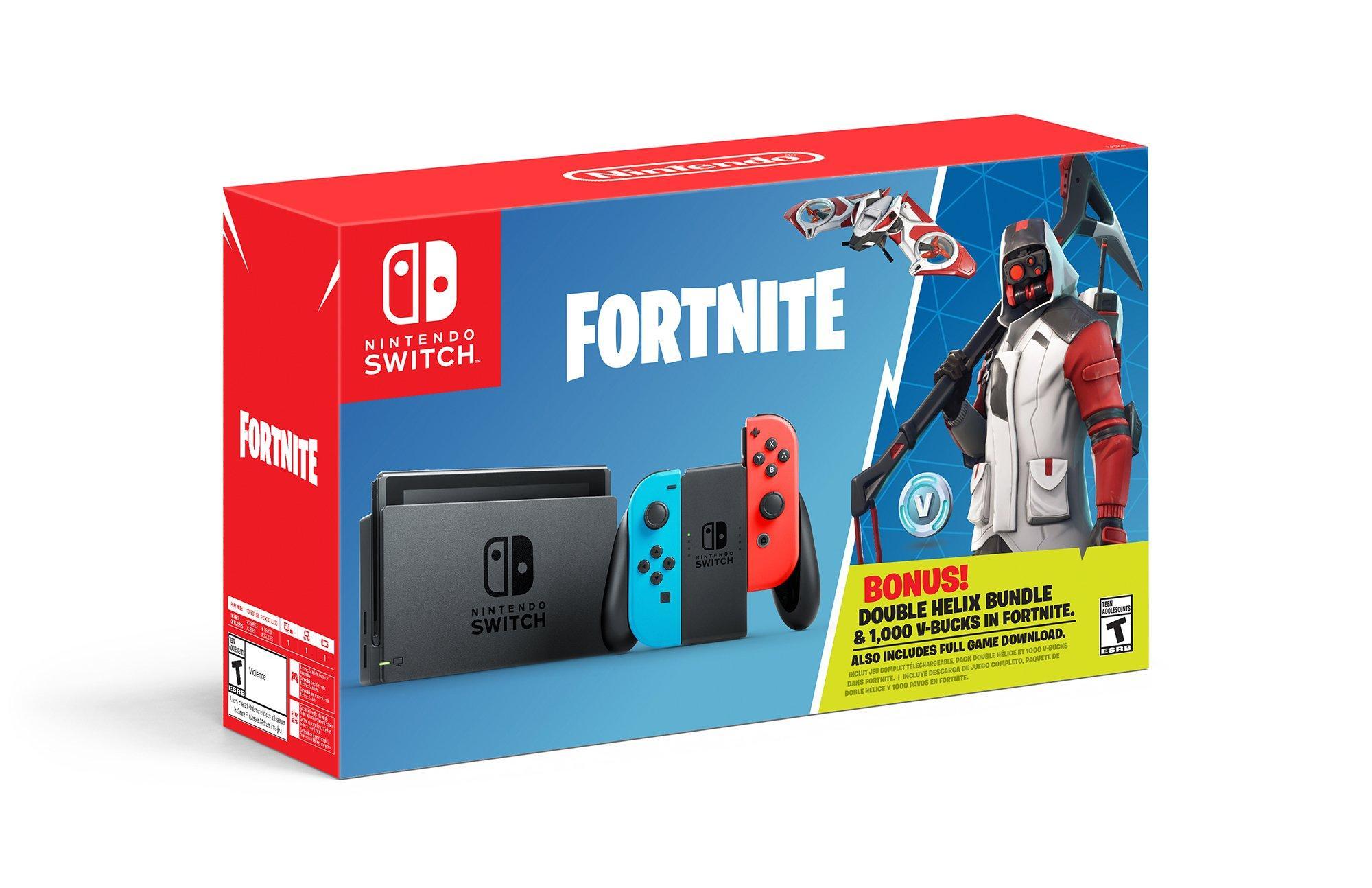 Nintendo Switch Fortnite Double Helix Bundle Nintendo Switch Gamestop