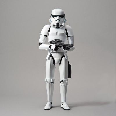 Star Wars Episode IV: A New Hope Stormtrooper Model Kit
