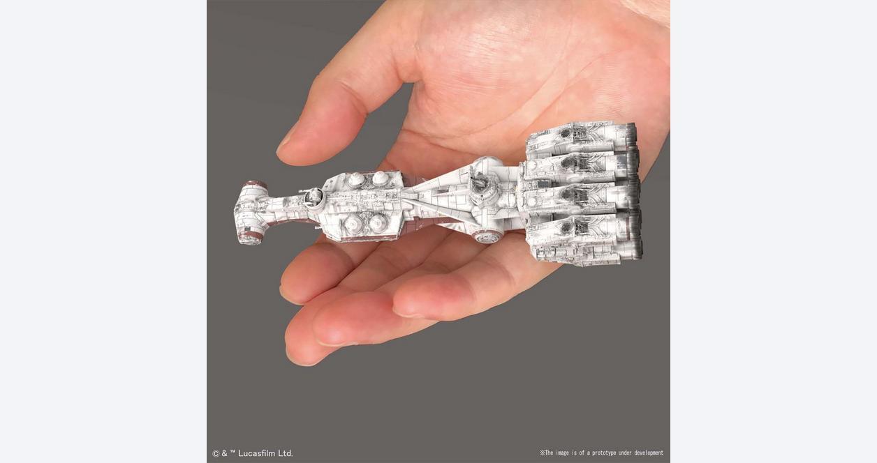 Star Wars Episode IV: A New Hope Blockade Runner and Millennium Falcon Model Kit