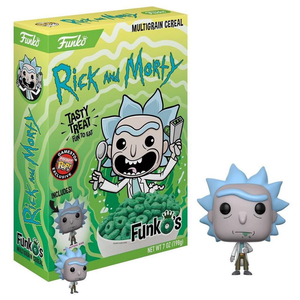POP! Cereal: FunkO's Rick and Morty - Rick - Only at