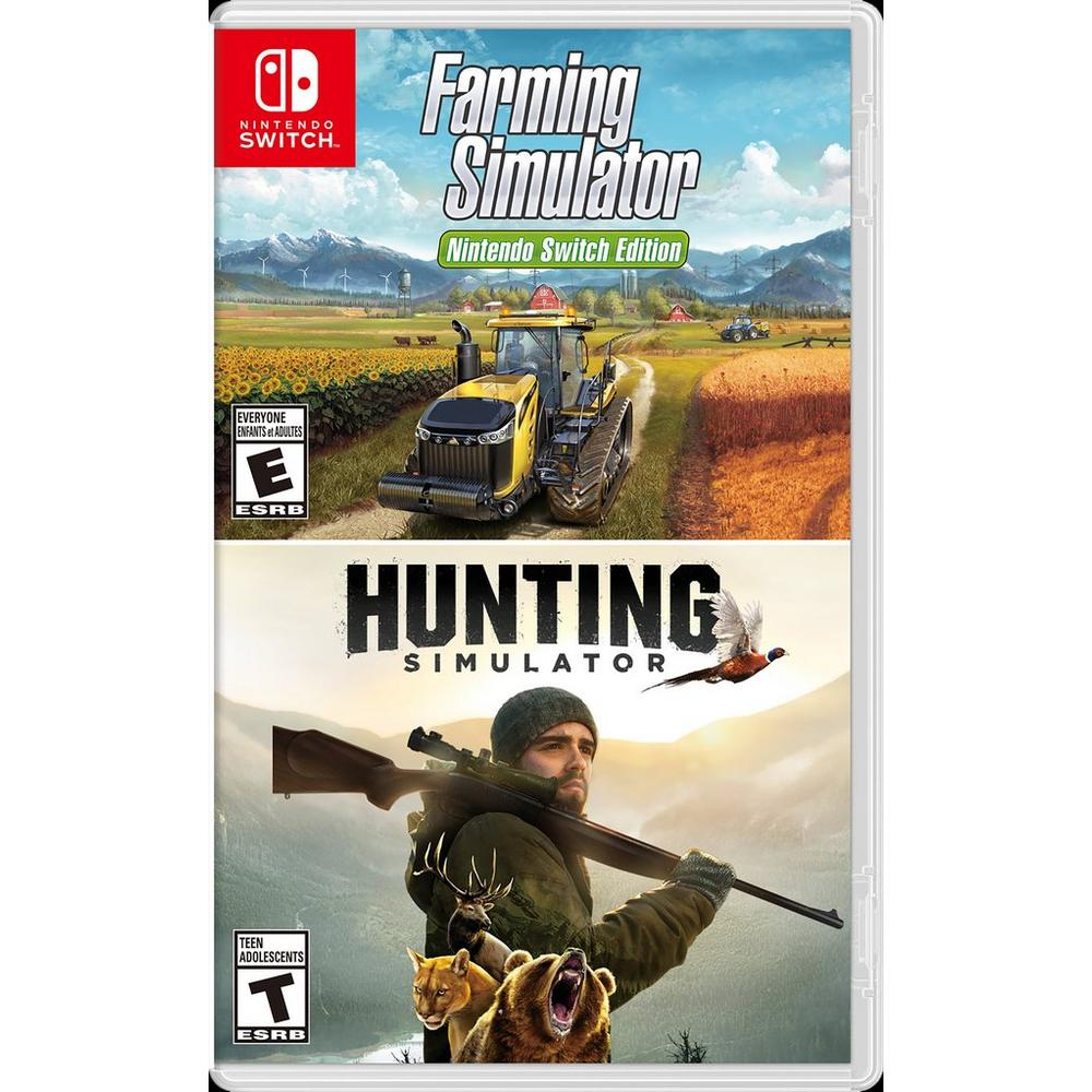 Hunting Simulator & Farming Simulator Bundle - Only at GameStop | Nintendo  Switch | GameStop