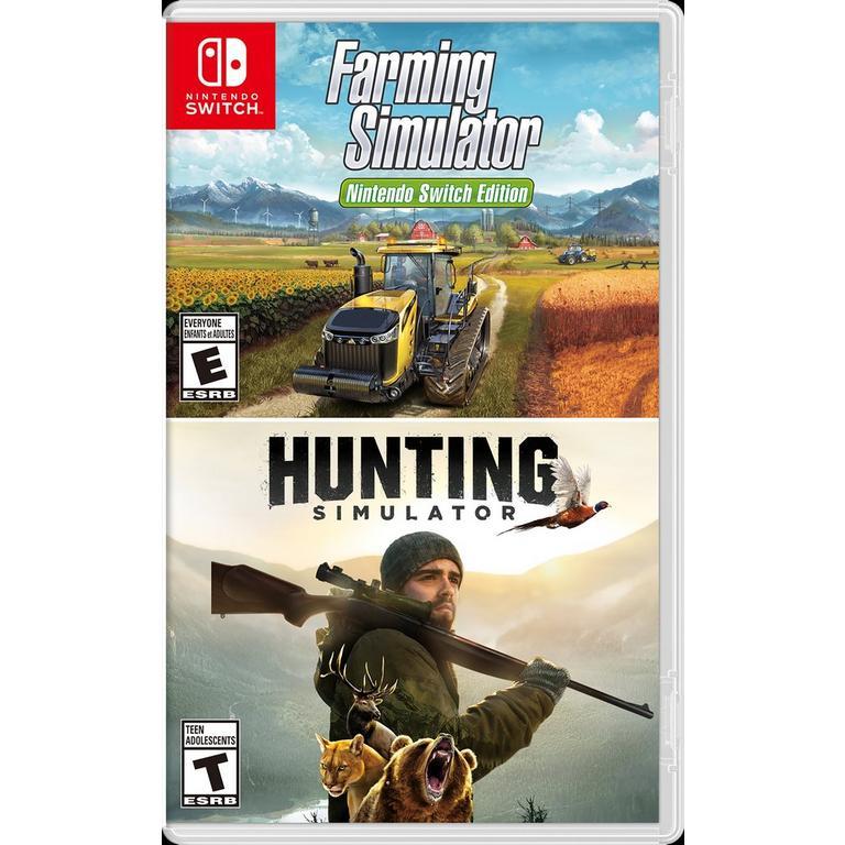 Hunting Simulator & Farming Simulator Bundle Only at GameStop