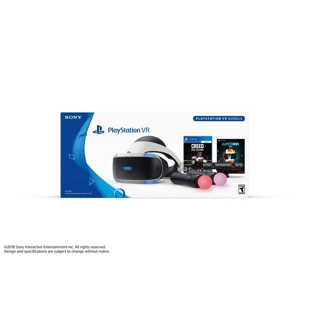 PlayStation VR Creed: Rise to Glory and SUPERHOT VR Bundle | <%Console%> |  GameStop