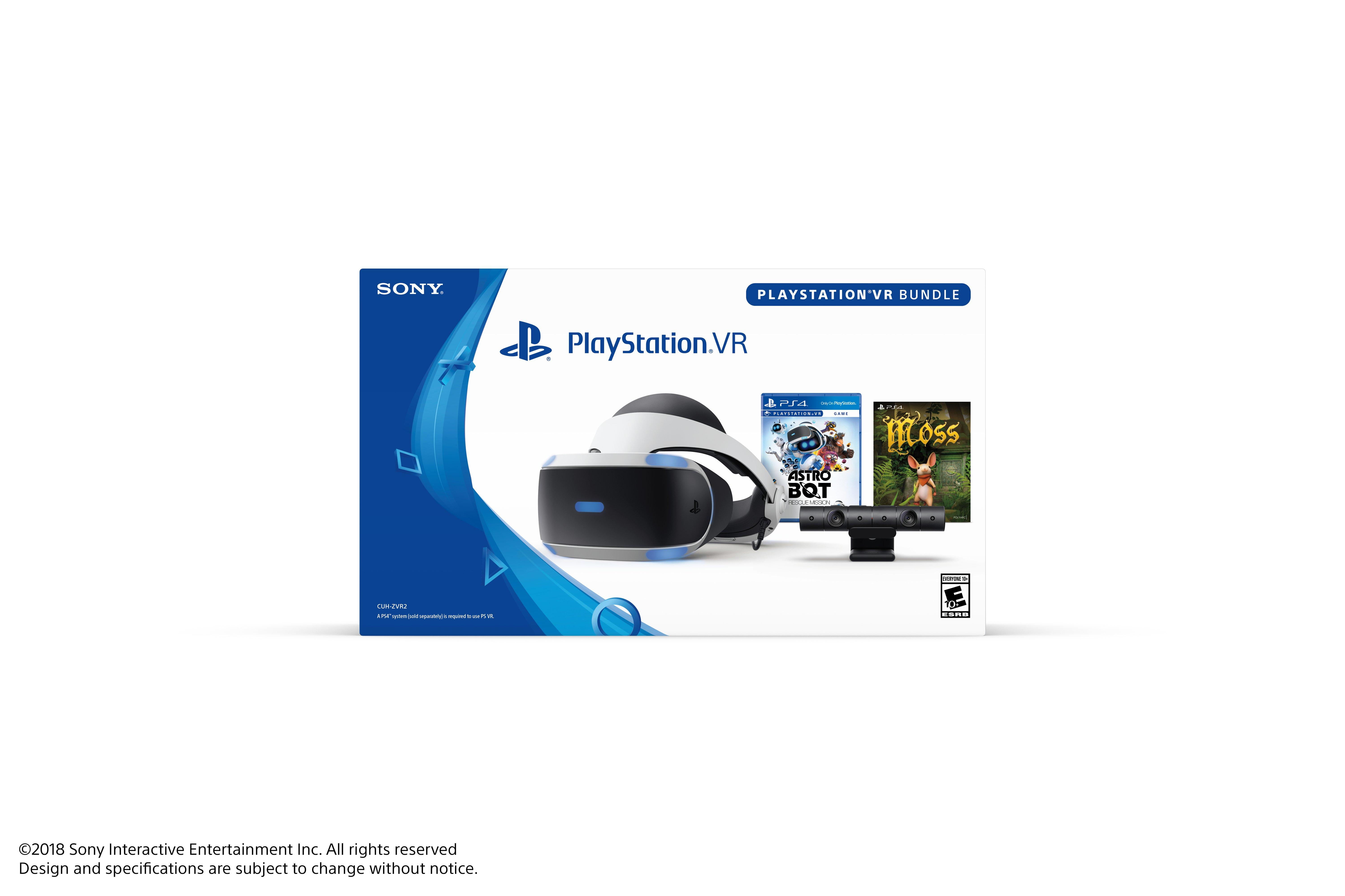 Astro Bot Rescue Mission Moss Bundle PlayStation VR