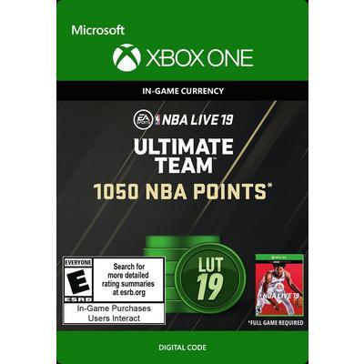 NBA Live 19 Ultimate Team 1,050 NBA Points